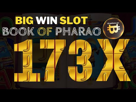 Big Win x173 Book of Pharao Amatic Slot
