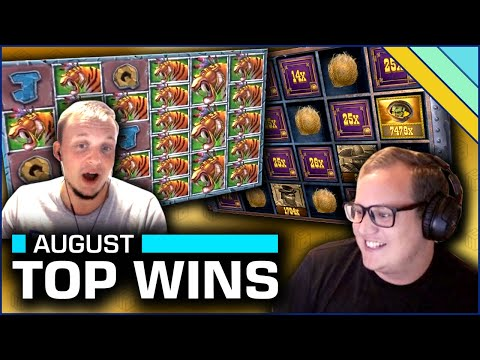 Top 10 Slot Wins of August 2020