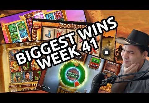 Online Casino Ranger Twitch – Biggest Online Slots Wins  – Week 40 – 2019