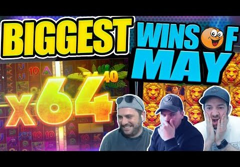 COLLECTION OF BIG WINS!! Fruity Slots Highlights From May