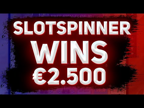 SLOTSPINNER HUGE WINS €2 000 | BIG WIN IN CASINO