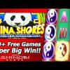 China Shores Double Winnings Slot Bonus – 300+ Free Games, Super Big Win!!