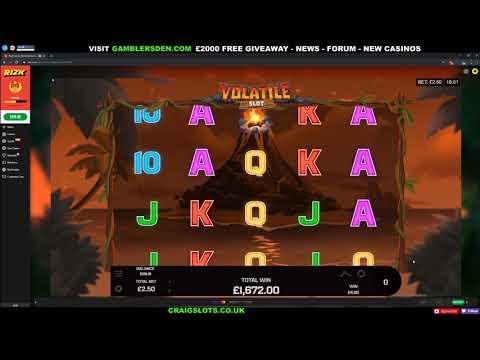 'Volatlie Slot' Epic Big Win and Bonus