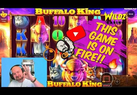 This Game Is On Fire!! Two Super Big Wins From Buffalo King!!
