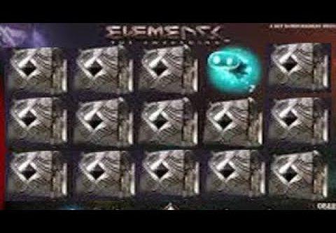 Elements Slot SUPER BIG WIN 10 euro bet