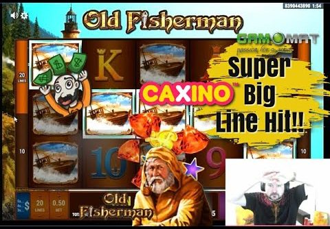 Super Big Line Hit Win From Old Fisherman Slot!!