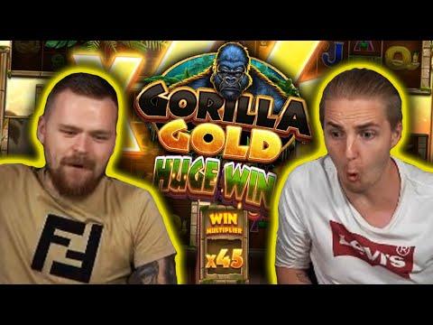 BIG WIN on GORILLA GOLD MEGAWAYS – Casino Slots Big Wins