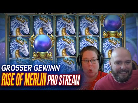 SLOT RISE OF MERLIN MEGA WIN IN CASINO / STREAMERS BIGGEST WINS