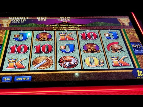 Pompeii Original Slot! Huge Win On $2.50 Bet