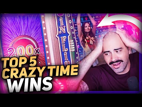 Streamer Record win 100.000 € on Crazy Time – Top 5 Big wins in casino slot