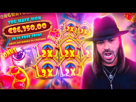 ROSHTEIN New Huge Win 86.000€ on The Dog House Slot – TOP 5 Mega wins of the week