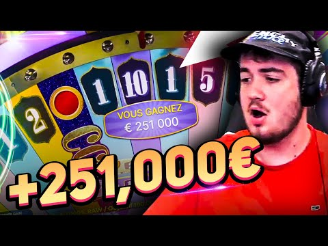 Bidule Record win 251 000€ on Crazy Time slot – TOP 5 mega wins in casino online