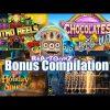 Bonus Compilation, some New Games + Reactoonz 1&2 + Chocolates + Community BIG WINS!!