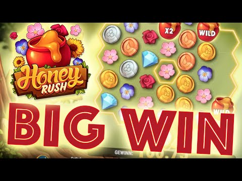 HONEY RUSH – BIG WIN [Welches Slot Machine 2020? ]