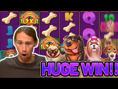 HUGE WIN!!! DOG HOUSE MEGAWAYS BIG WIN – €5 bet on Casino slot from CasinoDaddys stream
