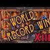 WORLD RECORD WIN on DEAD OR ALIVE 2 Slot machine