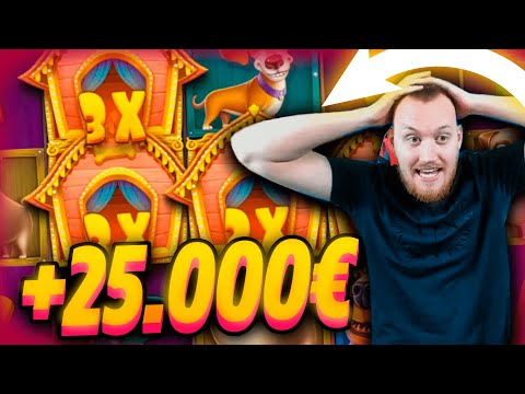 ClassyBeef Insane Win 25.000€ on The Dog House slot – TOP 5 Biggest wins of the week