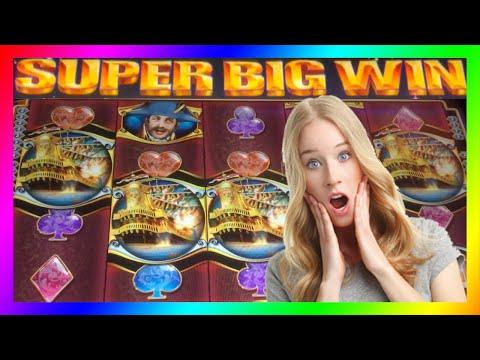 **SUPER BIG WINS!** Pirate Ship/King of Africa/Mystical Unicorn/WMS Slot Machine Bonus