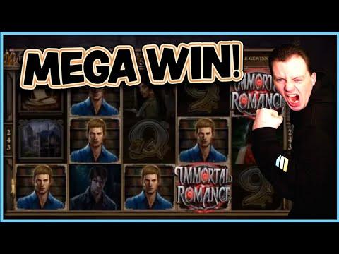 Mega Win Immortal Romance Microgaming Slot 2020