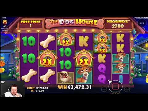 NEW RECORD WIN ON The Dog House Megaways ONLINE SLOT | Best wins of the week casino