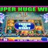 **SUPER BIG WIN!** SO MANY UNICORNS! Mystical Unicorn WMS Slot Machine Bonus