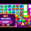FRUIT PARTY🍓🍊🍎🍏 SLOT BONUS BUYS☺️CAN WE GET A BIG WIN HERE OR MAYBE SOME PROFIT PAY ME PLEASE🔥
