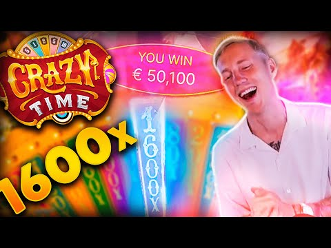 Streamer New Mega win x1600 on Crazy Time – Top 5 Big wins in casino slot