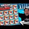 SlotRoom247 Huge win x1742  on Razor Shark slot – TOP 5 mega wins in casino online