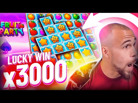 Streamer Insane win x3100 on Fruit Party slot – TOP 5 Mega wins of the week