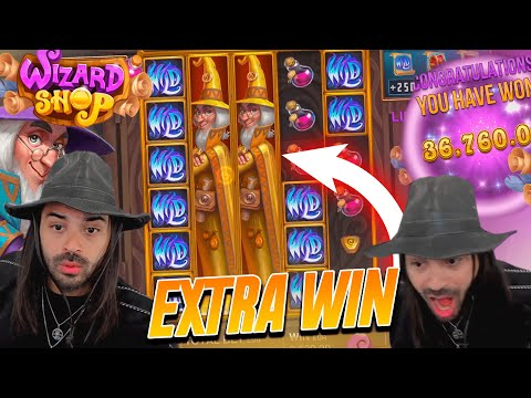 ROSHTEIN Win 36.000€ on Wizard Shop slot – TOP 5 Mega wins of the week