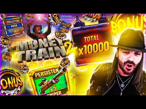 ROSHTEIN New Mega Win x8700 on  Money Train 2 Slot – TOP 5 Mega wins of the week