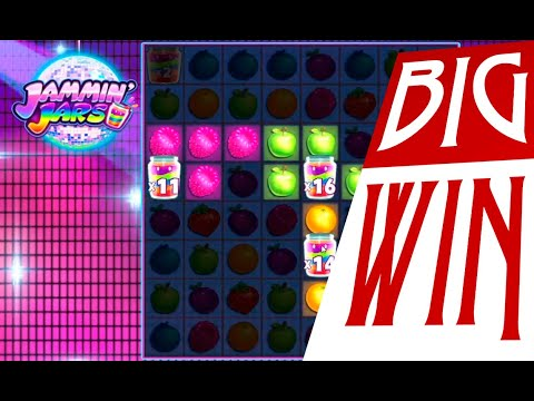 JAMMIN JARS – HUGE WIN on Jammin Jars online slot. Record win casino