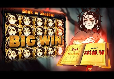 Top 5 Slot Wins on Book of Shadows