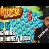 ROSHTEIN INSANE WIN 37.000 € on Stream – Top 5 Mega Wins  on Honey Rush slot