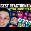 BIGGEST EVER WIN ON REACTOONZ – TOP SLOT WINS HIGHLIGHTS