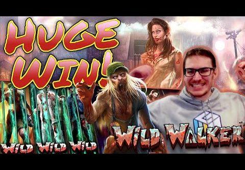 HUGE WIN on Wild Walker Slot – £7.50 Bet!