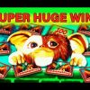GREMLINS SLOT – **SUPER HUGE WIN** – TOP PROGRESSIVE WIN! – Slot Machine Bonus