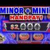 !!!JACKPOT!!! Sahara Gold Lighting Link MINOR + 2 MINI Bonus Handpay Big Win Slot Machine Video