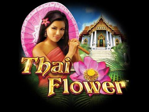 Big win thai flower  slot double bonus