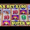 ***BUFFALO GOLD $3.60 SUPER BIG WIN*** MORE Big Win Bonus POMPEII | CATS HATS BATS | GOLDEN PRINCESS