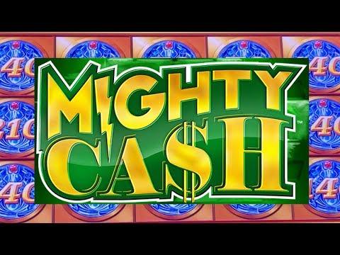 MIGHTY CASH Slot Machine – Long Teng Hu Xiao – 2 Feature Big Wins Aristocrat Gimmie Games Pokie