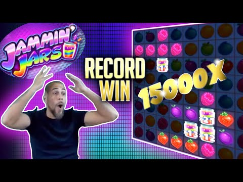 Record Slot Win Jammin Jars I 15000x
