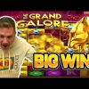 BIG WIN!! GRAND GALORE BIG WIN – €40 BET HIGHROLL ON CASINO SLOT from CasinoDaddys stream