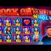 CLOSE TO THE MAX WIN ON VAMPIRES VS WOLVES   HUGE WIN ON PRAGMATIC PLAY ONLINE SLOT MACHINE