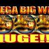 **HUGE MEGA WIN!!!** OVER 1100X! Pirate Ship WMS Slot Machine Bonus