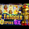40 Free Spins on Pharaoh's Fortune + Retrigger  BIG WIN – 5c Video Slots