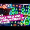 TOP 5 BIGGEST CRAZY WINS   BIG JACKPOT   HUGE WINS IN VIDEO SLOTS LAST WEEK – 2019 DEC #1