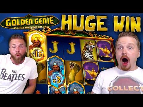 Huge Win in Golden Genie