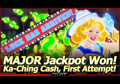 Ka-Ching Cash Vegas Neon Slot – Major Jackpot Won in First Attempt!  Luck Has Arrived Early in 2021!