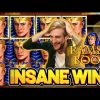 INSANE WIN! RAMSES BOOK BIG WIN – €5 bet on Casino Slot from CASINODADDY